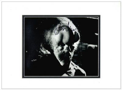John Hurt Autograph Signed Photo - Elephant Man